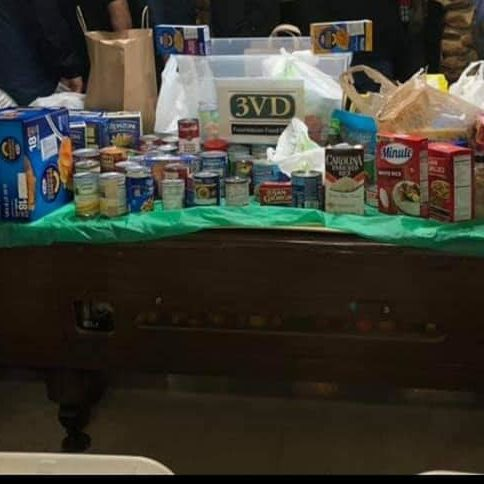 3vd foundation food supplies shown